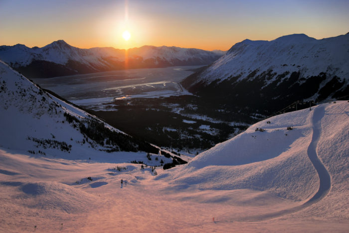 11. According to National Geographic (and every single resident in the state), Alaska is home to the best ski town in the world.