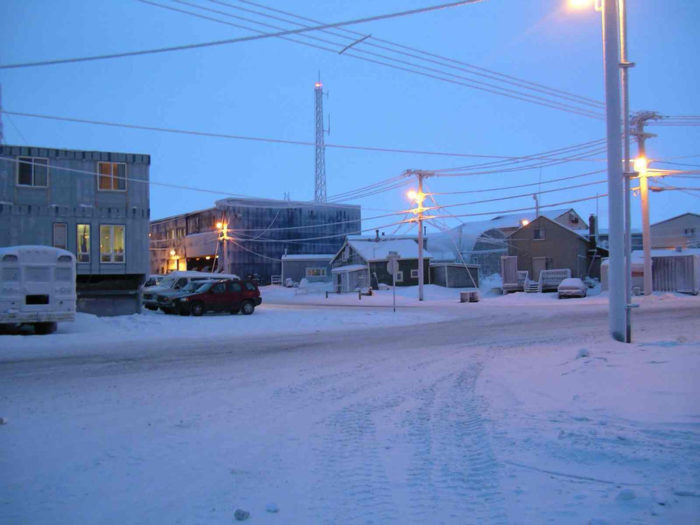 The arctic climate in Barrow comes at a chilly price. The average temperature in the summer is just 40 degrees. In fact, temps that are above the freezing line only happen about 120 days per year.