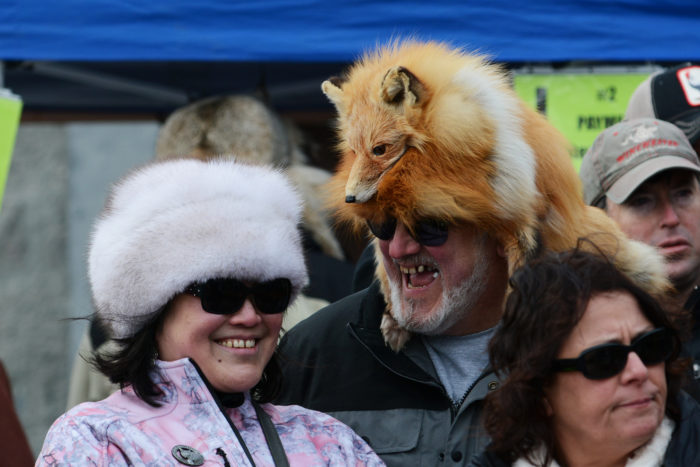 You can wear dead animals on your head and no one will look at you differently.