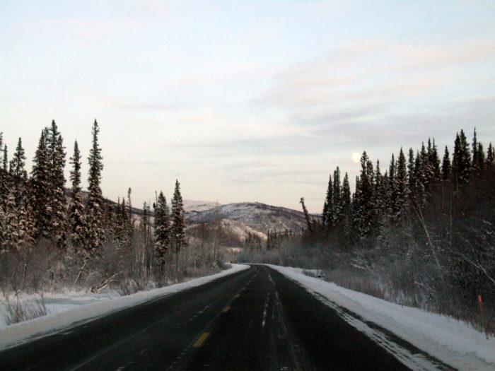 1. Chena Hot Springs Road - Fairbanks