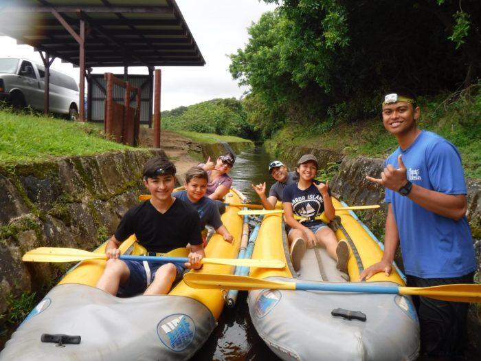 For a family-friendly adventure: Flumin' Kohala