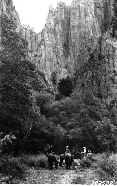 Or like you've traveled back in time. After all, the Gila Wilderness hasn't changed much in the last century.