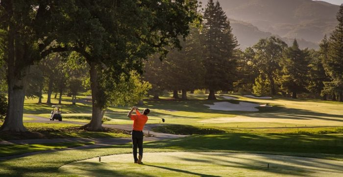 If you prefer to be outside then golf is ideal at Silverado. There are two championship golf courses available to members or resort guests.