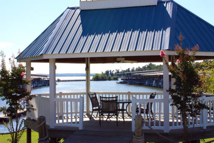 Green Turtle Bay deck