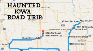 The Haunted Road Trip That Will Lead You To The Scariest Places In Iowa