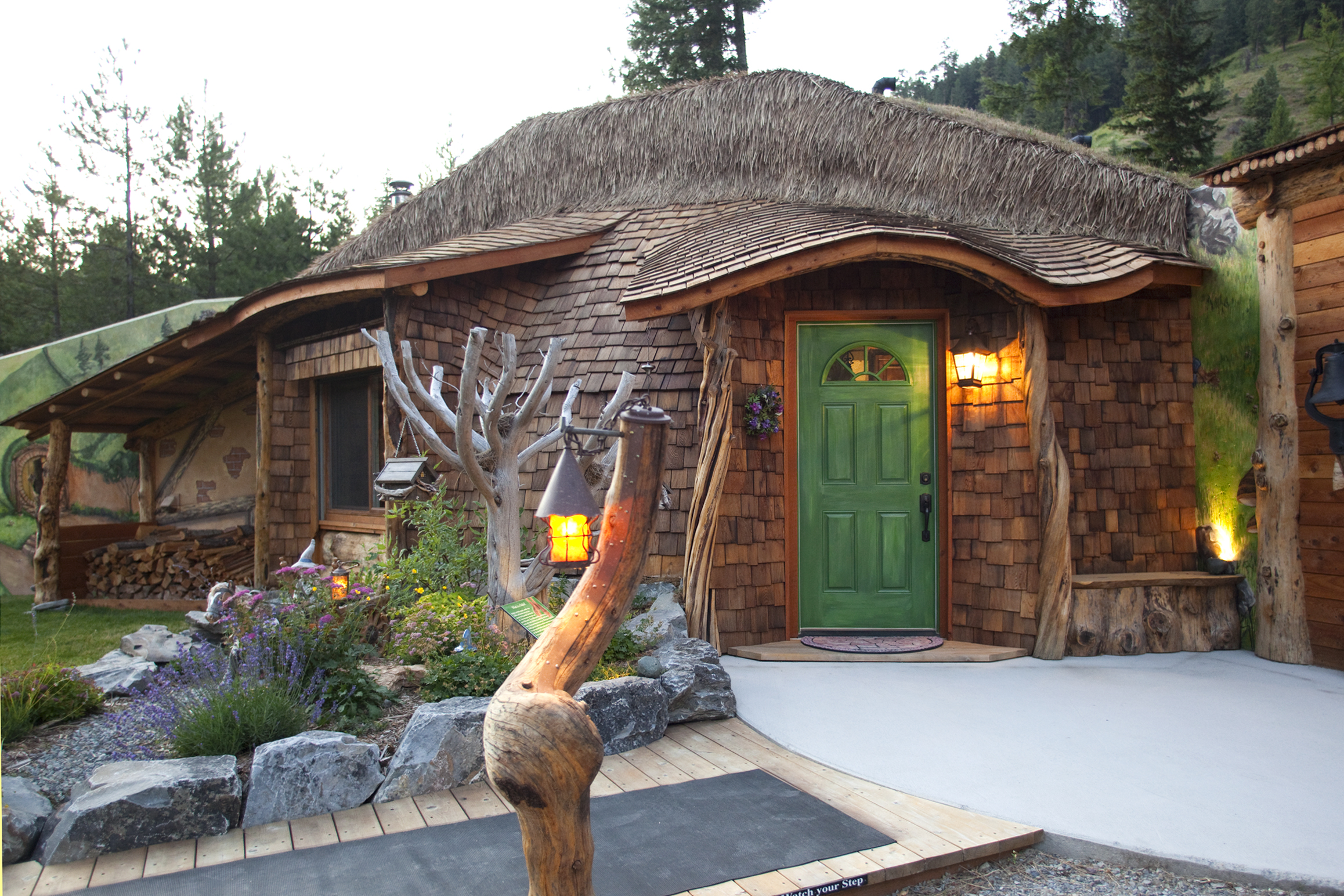 Stay In An Enchanting Hobbit House In Montana