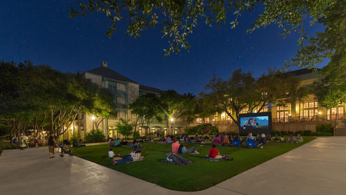 ...nighttime movies on the lawn, and more.