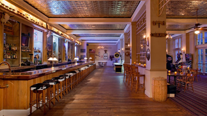 As far as dining, the options are endless. From an upscale bar...