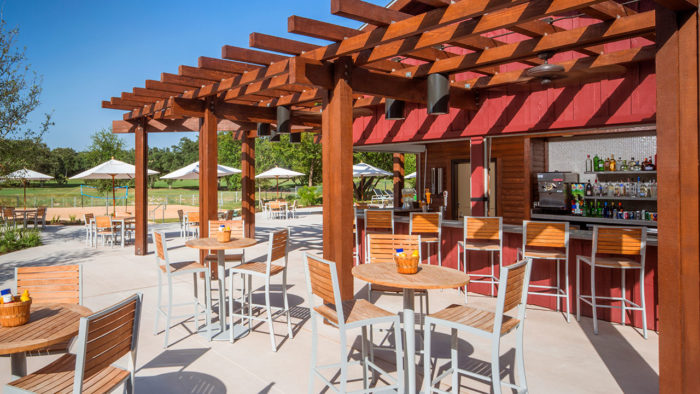 ...to an outdoor cafe, there's something to fit everyone's fancy.