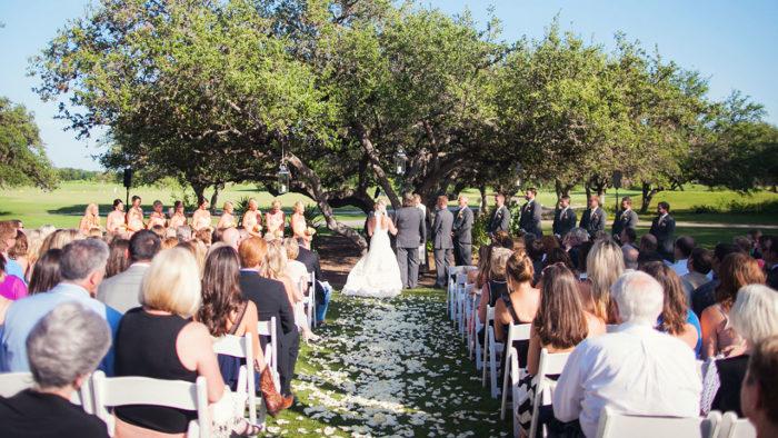 ...a wedding...