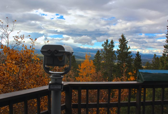 ...and vista views of a 100-mile stretch of the Continental Divide.
