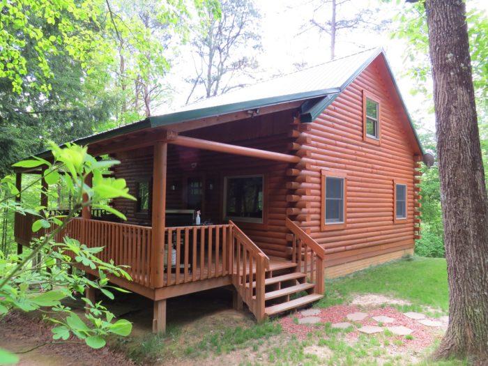 3. The Cabin at the Preserve (Rockbridge)