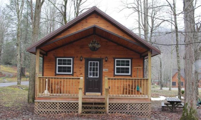 If you do want to stay for a while, there are rooms in the lodge, and 14 cabins.