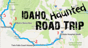 This Haunted Road Trip Will Lead You To The Scariest Places In Idaho