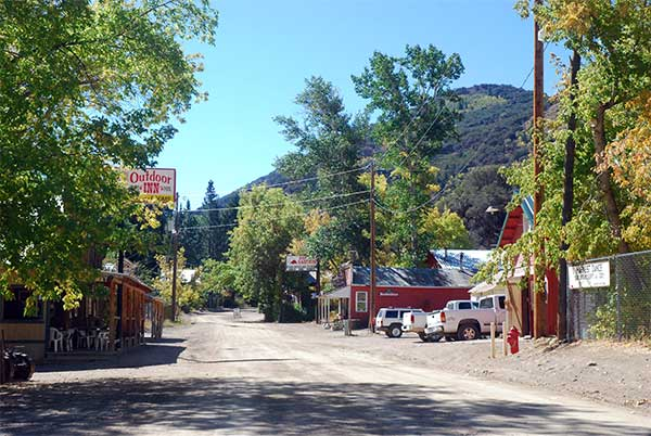 At the north end of the Jarbidge Mountains sits the picturesque town of Jarbidge.
