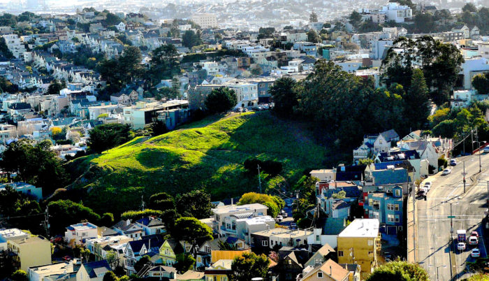 4. Kite Hill: 19th & Yukon Street, San Francisco
