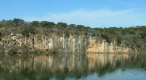 Most People Have No Idea This Underwater City Near Austin Even Exists