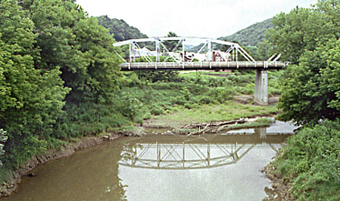 Glenville, WV grew up around the boat traffic from the Little Kanawha River.