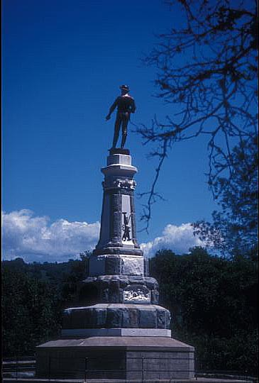 Take a short hike up to this statue of John Marshall, the man who discovered gold at Sutter's Mill.