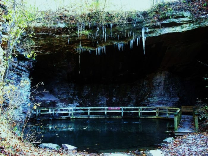 4. Abandoned Marble Mine, James H. Floyd State Park