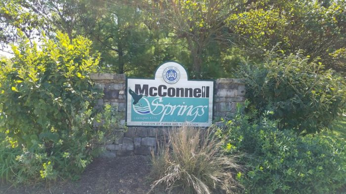 McConnell Springs sign