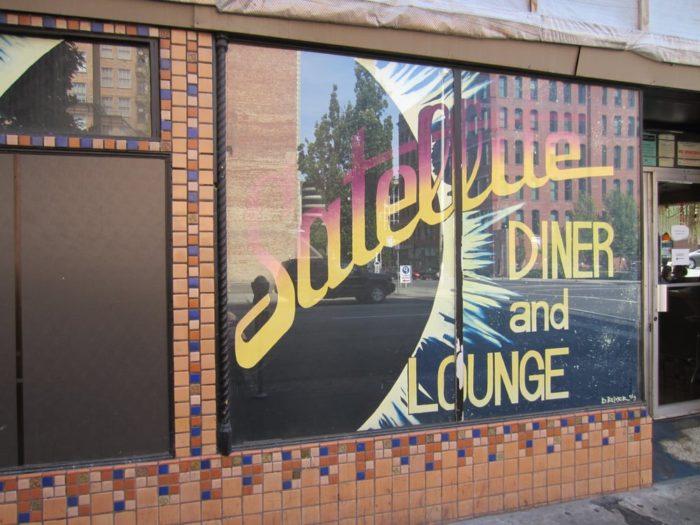 3.  The Satellite Diner, Spokane