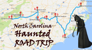This Haunted Road Trip Will Lead You To The Scariest Places In North Carolina