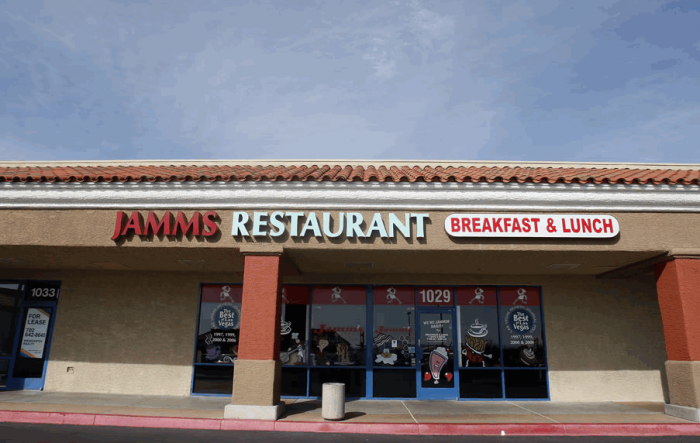 Jamm's Restaurant, Las Vegas, NV
