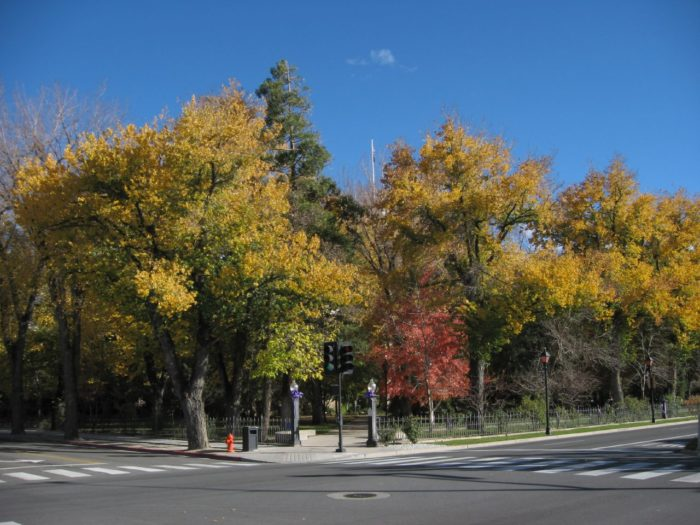 8. Take in the Nevada State Capitol Grounds on North Carson Street.
