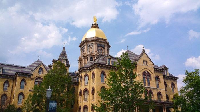 8. Notre Dame University - Notre Dame