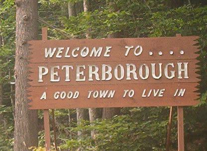 Peterboroughsign