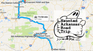 The Haunted Road Trip That Will Lead You To The Scariest Places In Arkansas