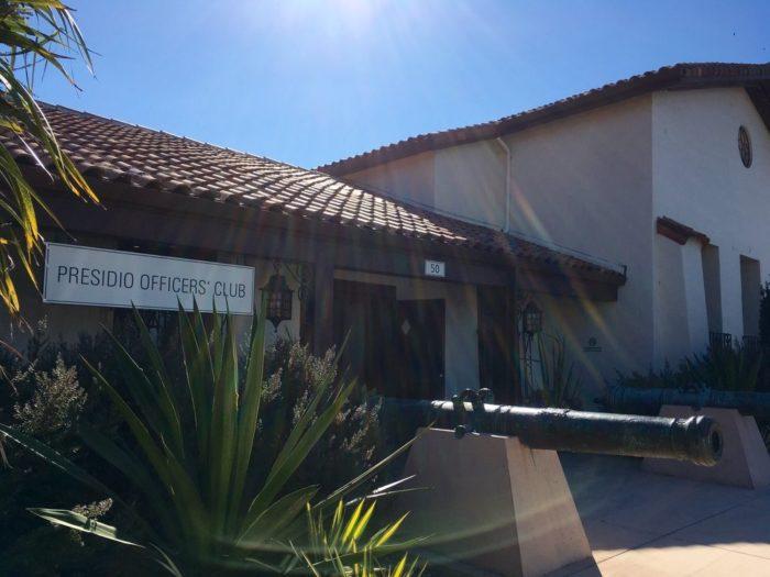 4. Presidio Officer's Club: 50 Moraga Ave