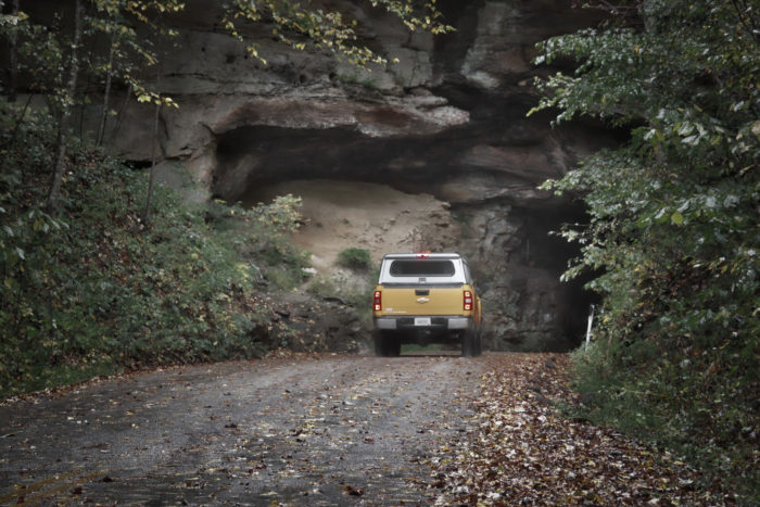2. Red River Gorge Scenic Byway (KY-11, KY-77, KY-715, and KY-402)