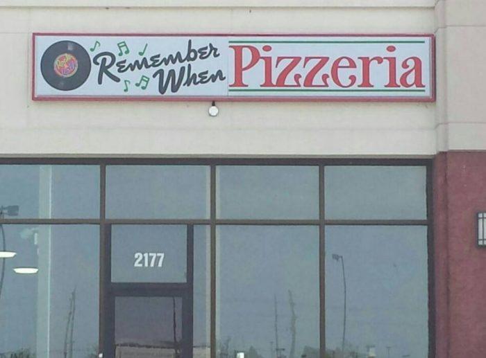 8. Remember When Pizzeria - Terre Haute