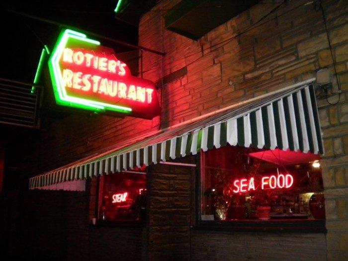 7. Rotier's Restaurant