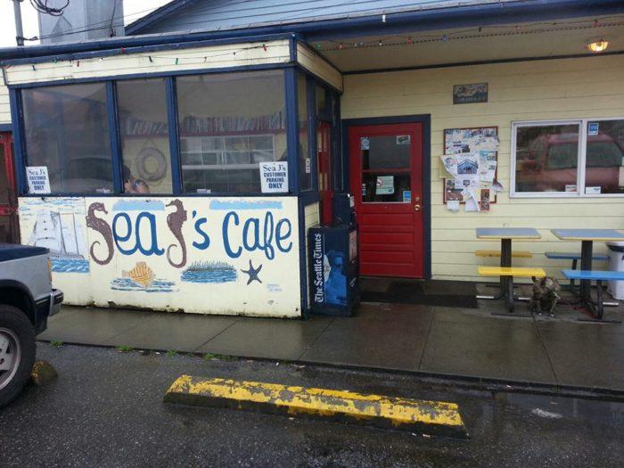 4. Sea J's Cafe, Port Townsend