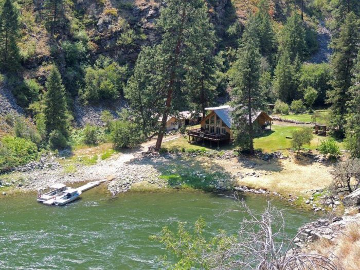 The Salmon River Lodge Resort is a unique haven that is as secluded as they come.