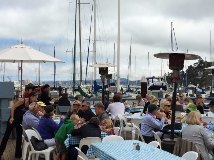 Visit local hotspot: Sam's Anchor Cafe