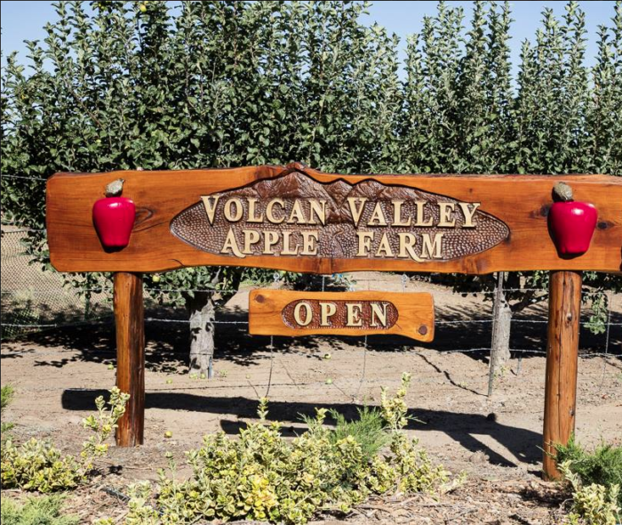 Volcan Valley Apple Farm is one of our favorites: 1284 Julian Orchards Drive.