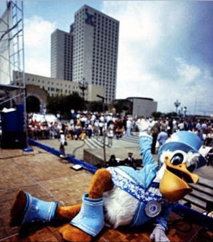 5) The 1984 Louisiana World's Fair