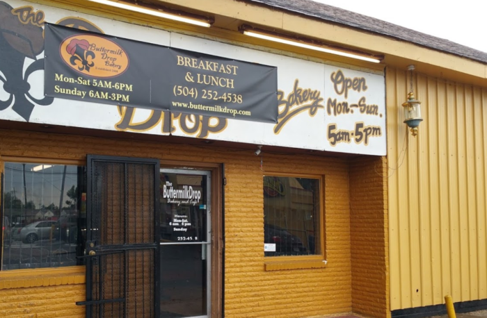 7. Buttermilk Drop Bakery & Café, 1781 N Dorgenois St.