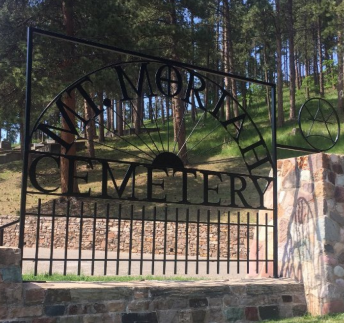 The cemetery was the first in Deadwood and has been around since 1878.