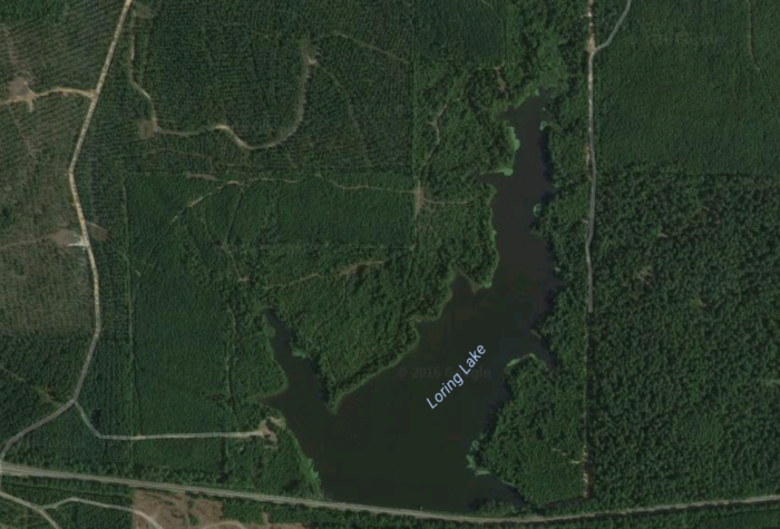 The Crying Woman has also been associated with the nearby Loring Lake.