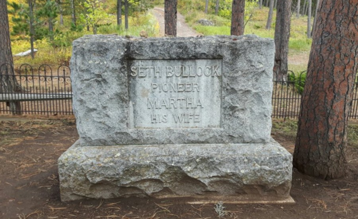 Another important man that lies here is Seth Bullock, the first sheriff of Deadwood and proprietor of the Bullock Hotel, still in use today.