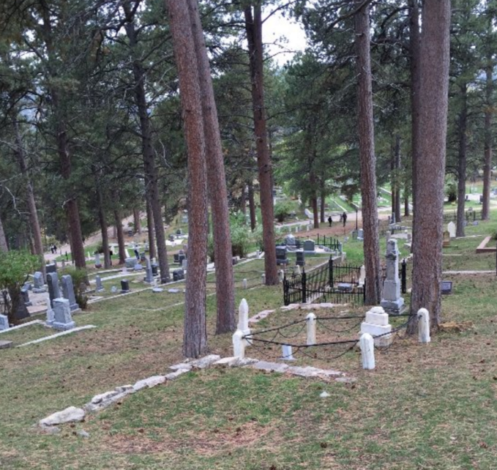 """Though many people are buried here, there are """"celebrity"""" graves that draw the attention of hundreds who visit every year."""