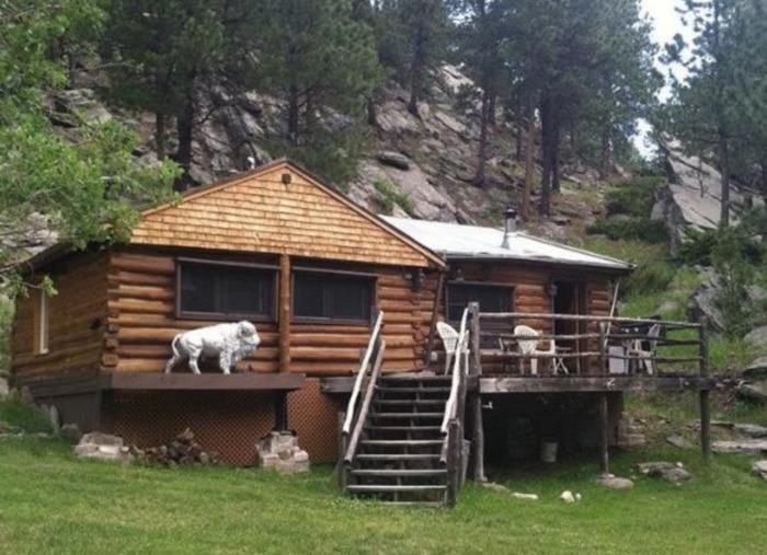 5. Lost Bison Cabin - Custer