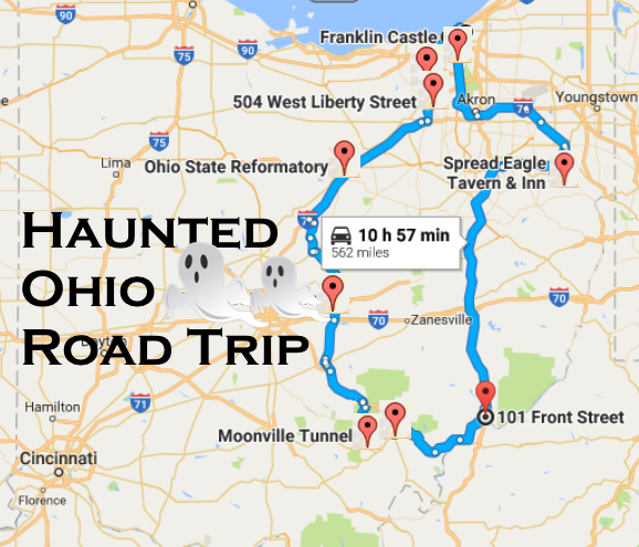 Visit The Most Haunted Places In Ohio On This Epic Road Trip on map of united states with roads, map of puerto rico with roads, map of atlanta with roads, map of jacksonville with roads, ohio county maps with roads, map of barbados with roads, map of haiti with roads, map of mass with roads, map of texas with roads, map of little rock with roads, map of france with roads, map of ireland with roads, map of florida with roads, map of long island with roads, map of nigeria with roads, map of eastern usa with roads, map of north america with roads, map of california with roads,