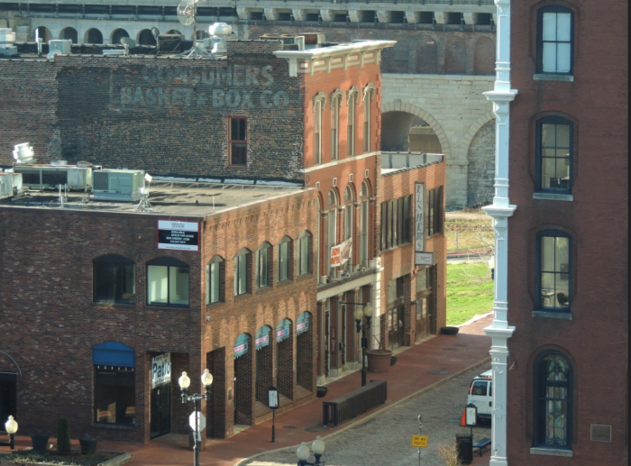 The district is no longer a fur trading post, but visitors can come and enjoy premier restaurants, shopping and live music.