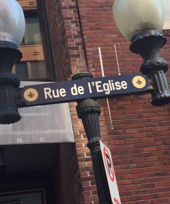 Today, you'll still notice some touches of France throughout the district, such as street names.